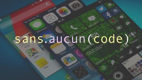 Comment créer une application mobile sans avoir à coder quoi que ce soit | Trucs et astuces du net | Scoop.it