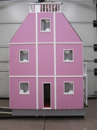 [Coup de ♥] Maison de Barbie par Bouriquot sur le #CDB | Best of coin des bricoleurs | Scoop.it