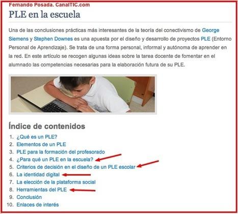 En la Web 2.0 - PLE y PLN del alumno | RAQUEL | Scoop.it