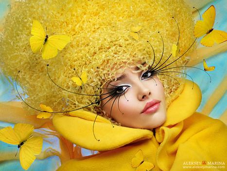 Fashion Art of Aleksey Kozlov and Marina Khlebnikova | Fashionable Things | Scoop.it