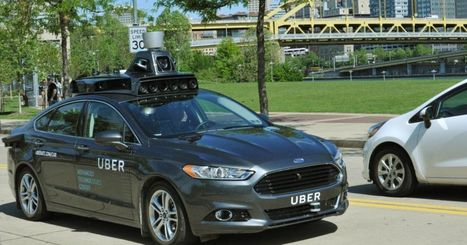 Uber shows off its first self-driving car | Robotics | Scoop.it