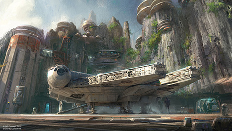 Disney Announces Star Wars-Themed Attractions, Thereby Ensuring Force Will Be With Us All | Retailtainment | Scoop.it