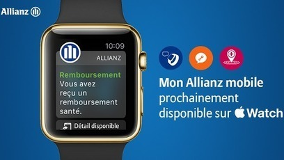 Allianz, premier assureur sur l'Apple Watch | Banque et innovation | Scoop.it