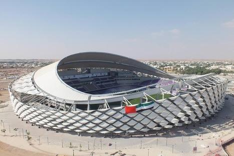 Hazza Bin Zayed (HBZ) Stadium | Architecture, design & algorithms | Scoop.it