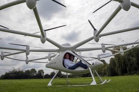 (Vidéo) Mi-drone mi-hélicoptère, le volocopter est-il le transport de demain ? | Vous avez dit Innovation ? | Scoop.it