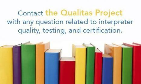 QUALITAS | Assessing Legal Interpreting Quality through Testing and Certification | Translation Studies, Corpus Linguistics, Academia | Scoop.it