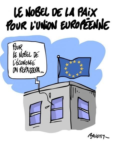 Nobel de la Paix pour l'Europe | LAFORET MOLSHEIM | Scoop.it