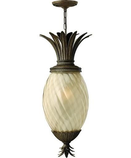 Hinkley Plantation 1-Light Outdoor Pendant Light Pearl Bronze | Home Decors & Lighting | Scoop.it
