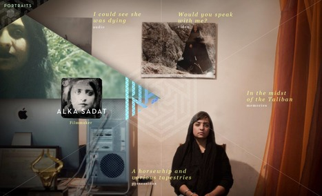 Kabul Portraits | Interactive & Immersive Journalism | Scoop.it