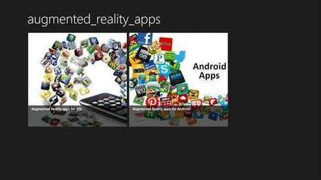 Augmented Reality Apps – Windows Apps on Microsoft Store | Informatics Technology in Education | Scoop.it