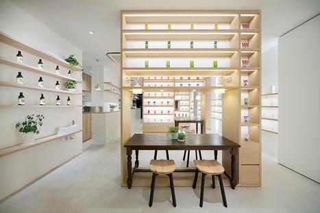Au Japon, Beauty Library soigne ses clients aux petits oignons bio | Beauté & Cosmétiques | Scoop.it