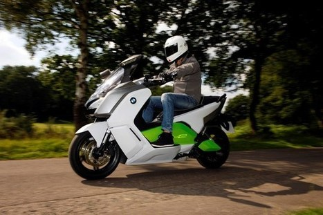 BMW C evolution electric scooter review   scooter godly people   Scoop.it