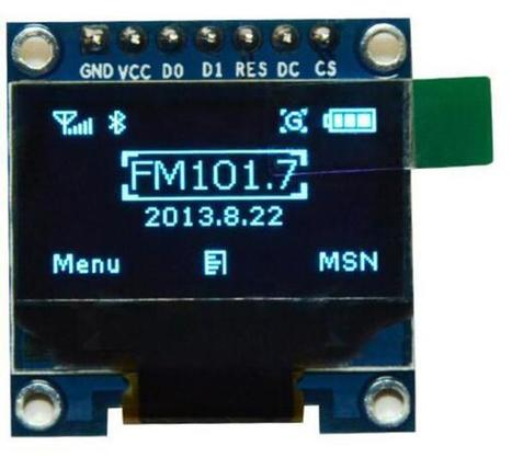 """0.96"""" Inch I2C IIC SPI Serial 128X64 Blue OLED LCD LED Display SSD1306 for Arduino - OLED - Arduino, 3D Printing, Robotics, Raspberry Pi, Wearable, LED, development board Black Friday 2016 ICStation 
