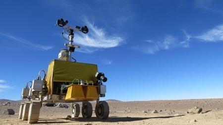 ESA's prototype ExoMars rover completes testing in Chile | GizMag.com | javierar | Scoop.it