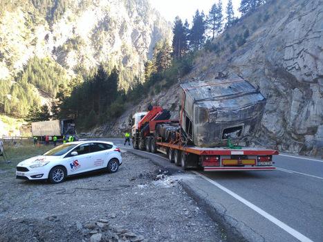 Une route du tunnel de Bielsa bien accidentogène | Vallée d'Aure - Pyrénées | Scoop.it