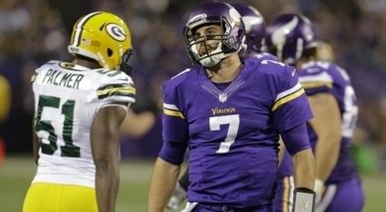 Christian Ponder's performance continues hot potato at Vikings' QB   Fantasy Football   Scoop.it