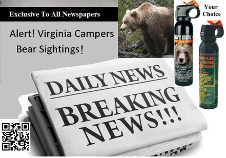 Bear Sightings | Personal Safety | Scoop.it