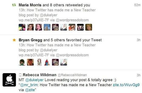 How Twitter has made me a New Teacher | Social Media and the Future of Education | Scoop.it