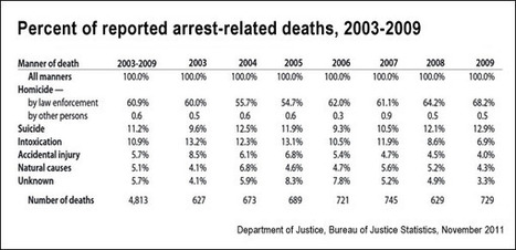 Deaths in police custody in the United States: Research review - Journalist's Resource | NGOs in Human Rights, Peace and Development | Scoop.it