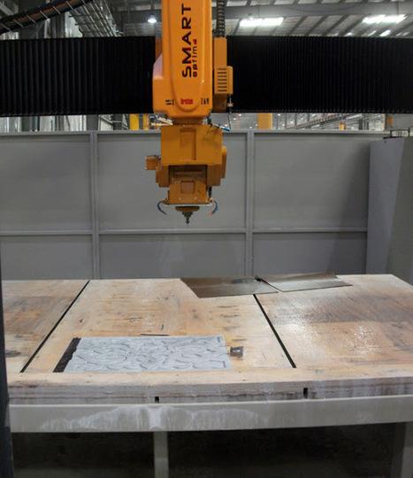 Bridge saw Smart-Cut OPTIMA with vacuum cups - Fabshop machines | Smart-Cut 550 Optima | Scoop.it