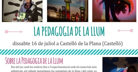 Idees Magistrals: Monogràfic: Pedagogia de la Llum | FOTOTECA INFANTIL | Scoop.it