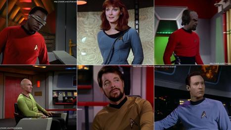 The Star Trek: TNG crew looks amazing in Original Series uniforms | Star Trek est déjà là | Scoop.it