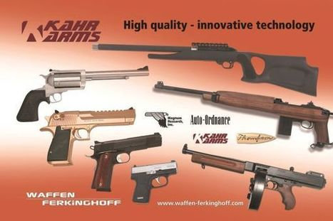 Waffen Ferkinghoff will become general importer for Europe for the product range of US weapons manufacturer Kahr Firearms Group - Generic News - all4shooters.com | all4shooters EN | Scoop.it