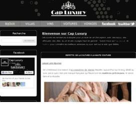 Cap-Luxury, les nouveautés du luxe | Bons plans | Scoop.it
