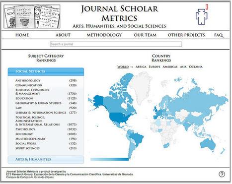 Journal Scholar Metrics portal bibliométrico para medir el impacto de las revistas de Arte, Humanidades y Ciencias Sociales | Las Tics y las ciencias de la informacion | Scoop.it