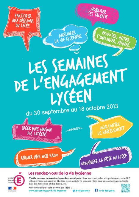 Les semaines de l'engagement - Ministère de l'Éducation nationale | Veille CDI | Scoop.it