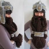 LOTR Crochet Dwarven Beard Helmet » Design You Trust – Design ... | Knitting, Crochet and Other Fiber Art | Scoop.it
