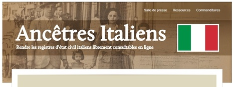 Ancêtres italiens — FamilySearch.org | Généal'italie | Scoop.it