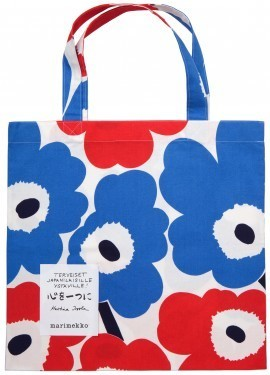 Unikko Bag for helping Japan | Totes | Marimekko | Finland | Scoop.it