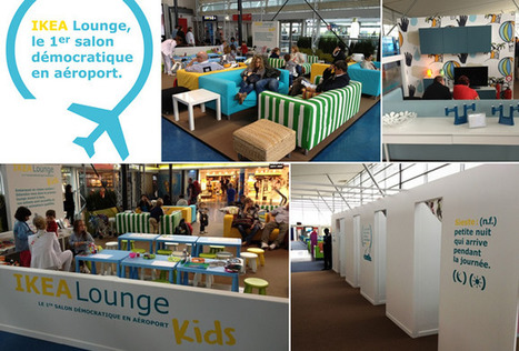 airlinetrends.com » IKEA opens temporary airport lounge at Paris CDG Airport | Allplane: Airlines Strategy & Marketing | Scoop.it