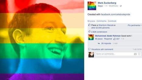 La foto profilo con l'arcobaleno? Così Facebook ci starebbe studiando | Social Media War | Scoop.it