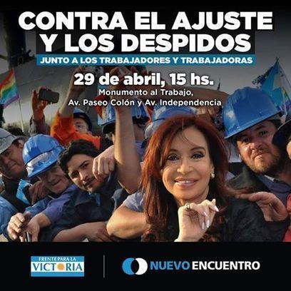 CNA: Sindicatos y Trabajadores Argentinos marchan en contra de Políticas de Despidos de Macri | La R-Evolución de ARMAK | Scoop.it