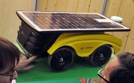 iPhone controlled solar powered vineyard robot | Damn Geeky - The ... | Agricultural Robots | Scoop.it