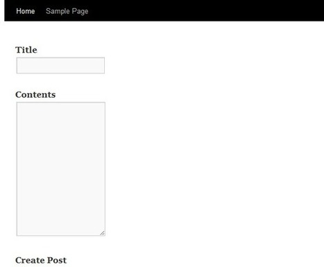 Adding Posts to a Site's Front-End Using AJAX | Wptuts+ | Realtime Web Dev | Scoop.it