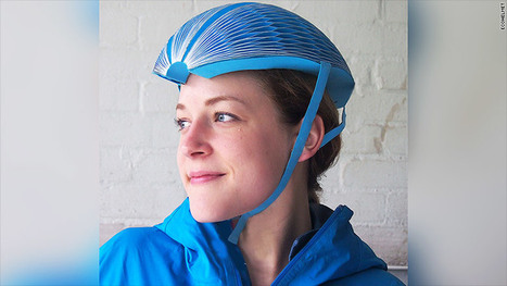 EcoHelmet is a foldable, recyclable bike helmet made from paper | Future Trends and Advances In Education and Technology | Scoop.it