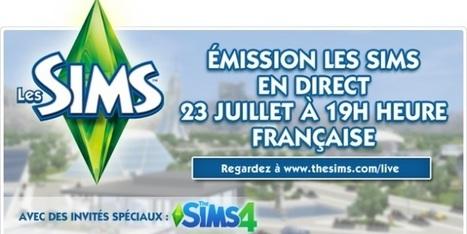 [Terminé] Les Sims 3 en Live ! - Direct Sims | Direct Sims | Scoop.it