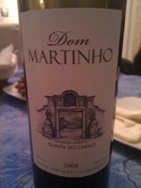 #vinhoDaNoite Quinta do Carmo Dom Martinho 2008 Tinto | Flickr - Photo Sharing! | #vinhodanoite | Scoop.it