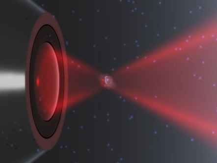 Nanoparticles trapped with laser light temporarily violate the second law of thermodynamics | Amazing Science | Scoop.it