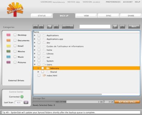 Spideroak une excellente alternative à Dropbox | Time to Learn | Scoop.it