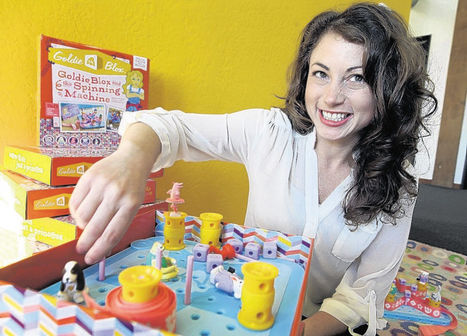 Women in Business: Q&A with Debbie Sterling, Founder of GoldieBlox | Women in Tech | Scoop.it