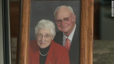 Couple married 63 years die minutes apart   Chain Letters from above   Scoop.it