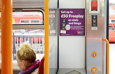 Mecca books NFC ads on trains - NFC World | NFC News and Trends | Scoop.it