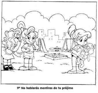 BUENAS NOTICIAS PARA LOS NIÑOS: Los 10 Mandamientos | Des sites pour le caté | Scoop.it