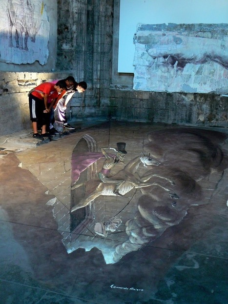 "Incredibly Surreal 3D Street Art Illusions - My Modern Metropolis | ""Cameras, Camcorders, Pictures, HDR, Gadgets, Films, Movies, Landscapes"" 