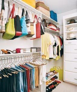 31 Ways to Make Over Your Closets | Home & Office Organization | Scoop.it