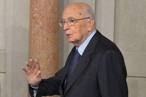 Italie : Napolitano réélu président | Union Européenne, une construction dans la tourmente | Scoop.it